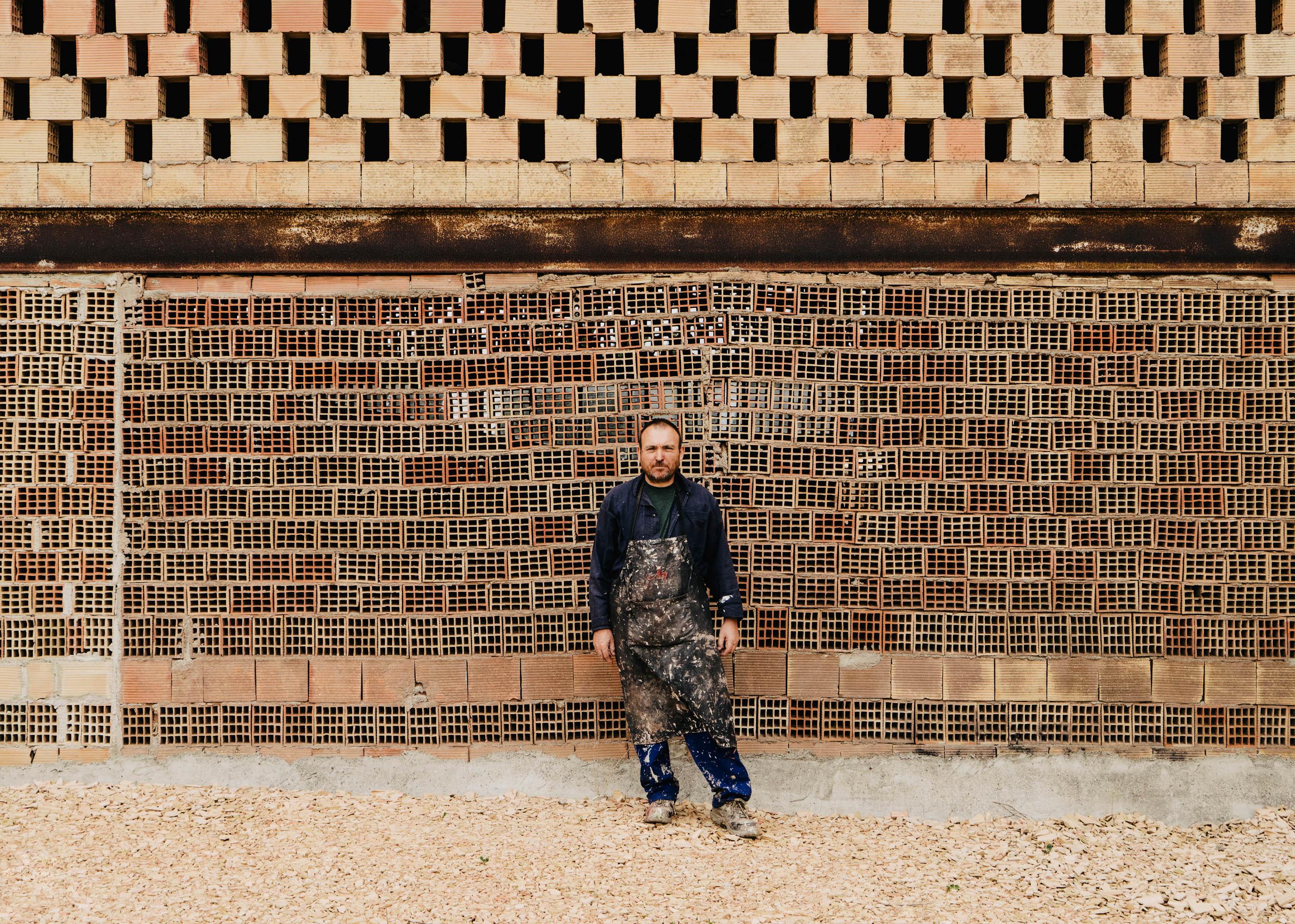 #portraits #miquel #barcelo #ceramics #studio #artist #mallorca #editorial #wsj #wallstreetjournal