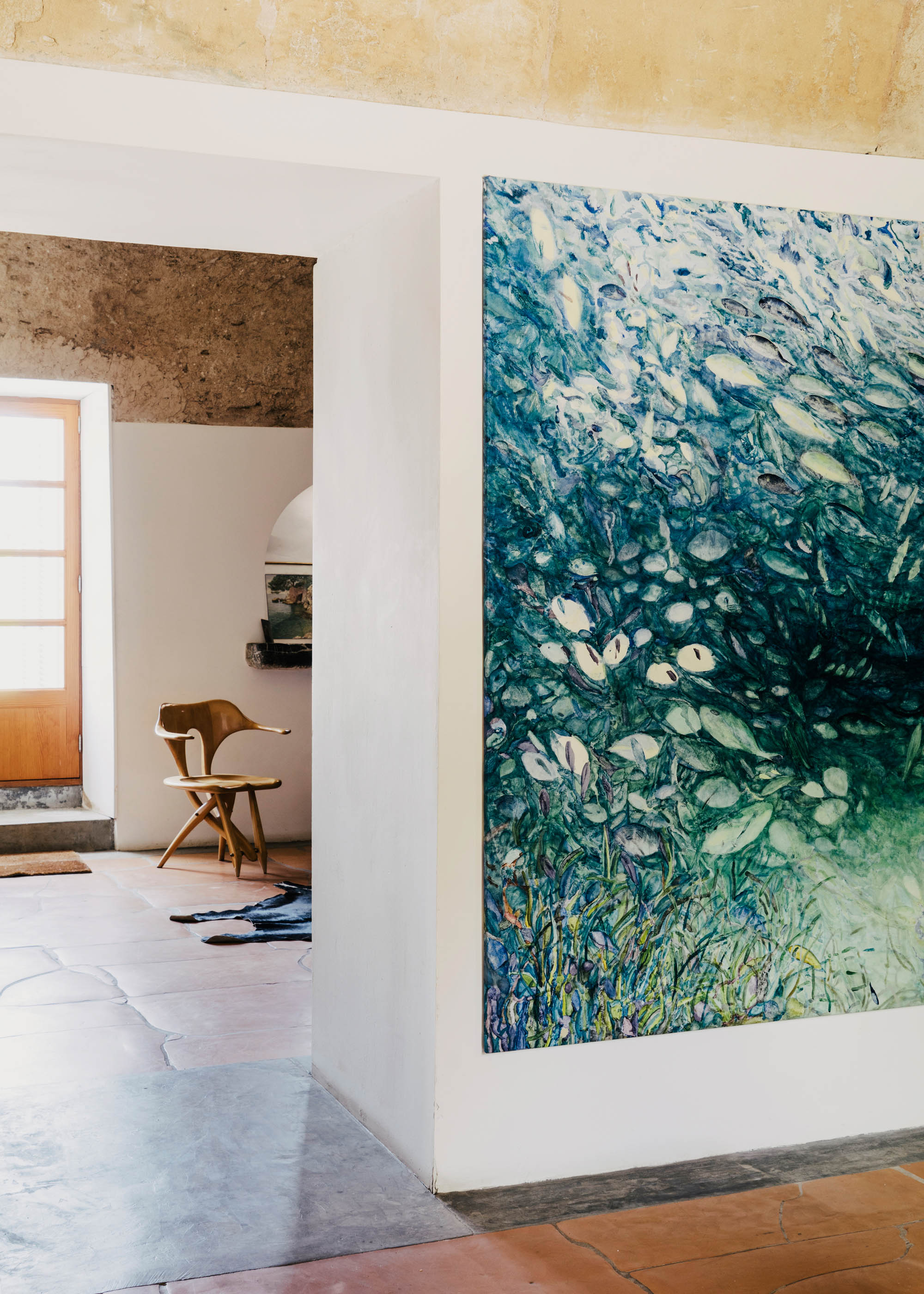 #interiors #miquel #barcelo #artist #spain #mallorca #editorial #wallstreetjournal