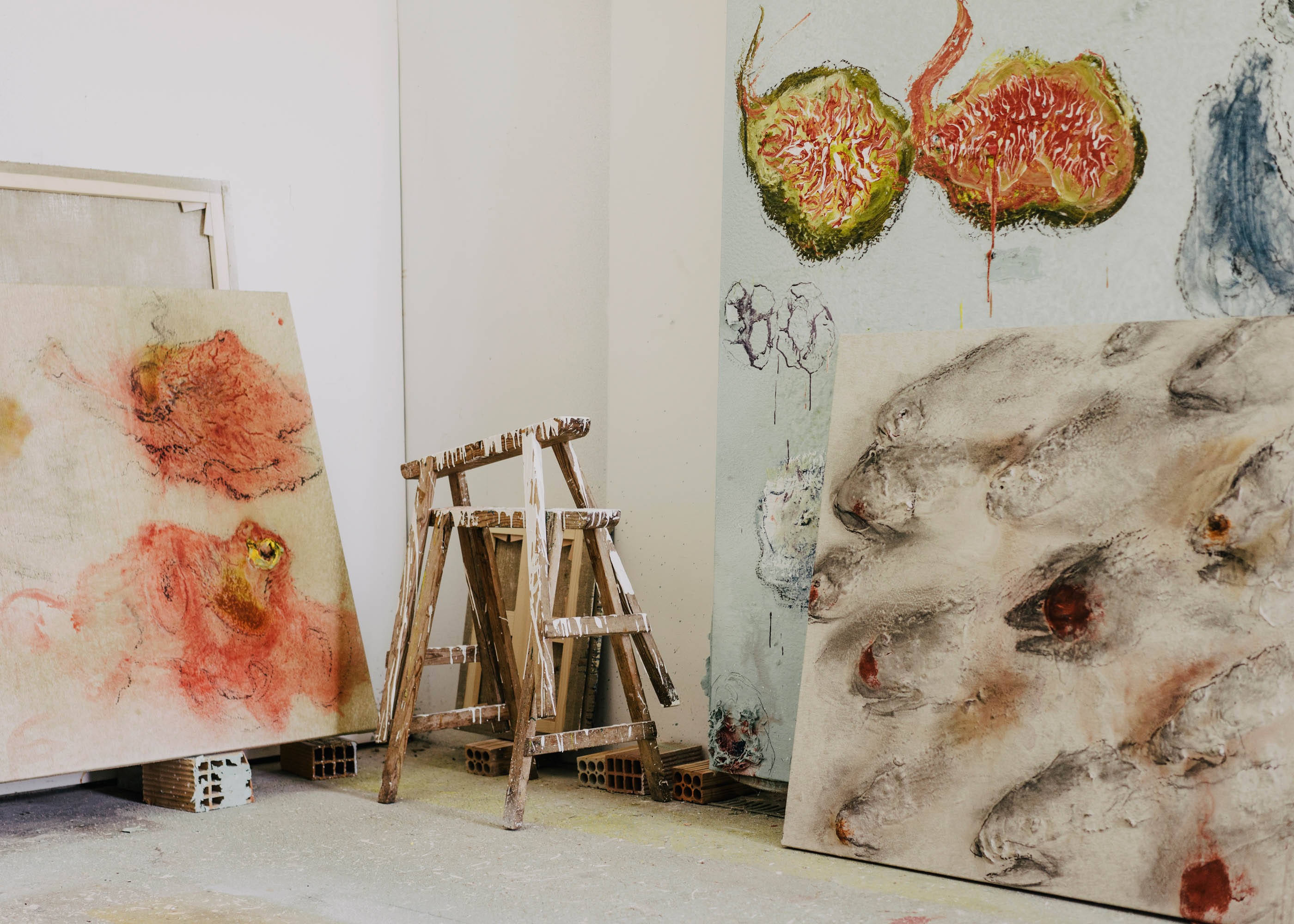 #miquelbarcelo #artist #house #mallorca #editorial #wsj #wallstreetjournal