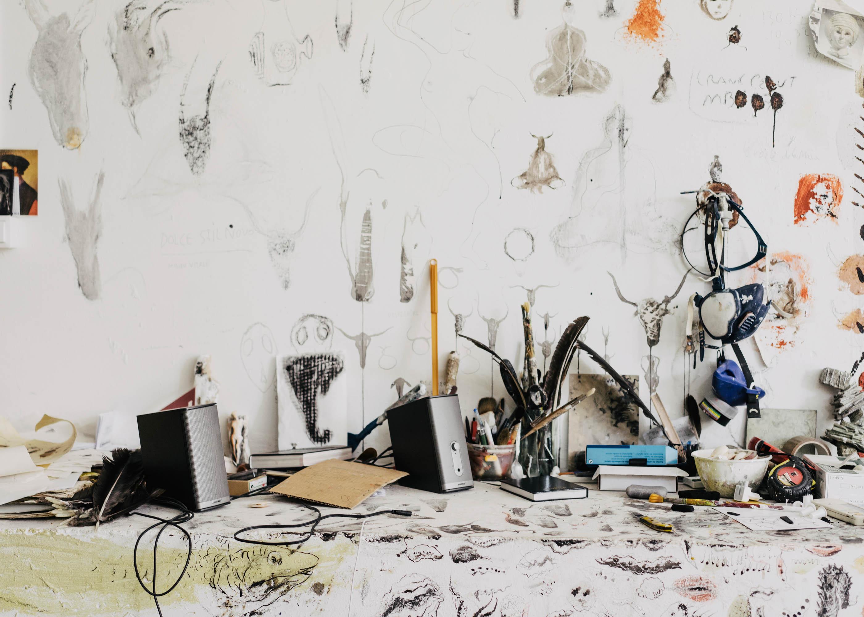 #miquelbarcelo #artist #house #mallorca #editorial #wsj #wallstreetjournal #studio