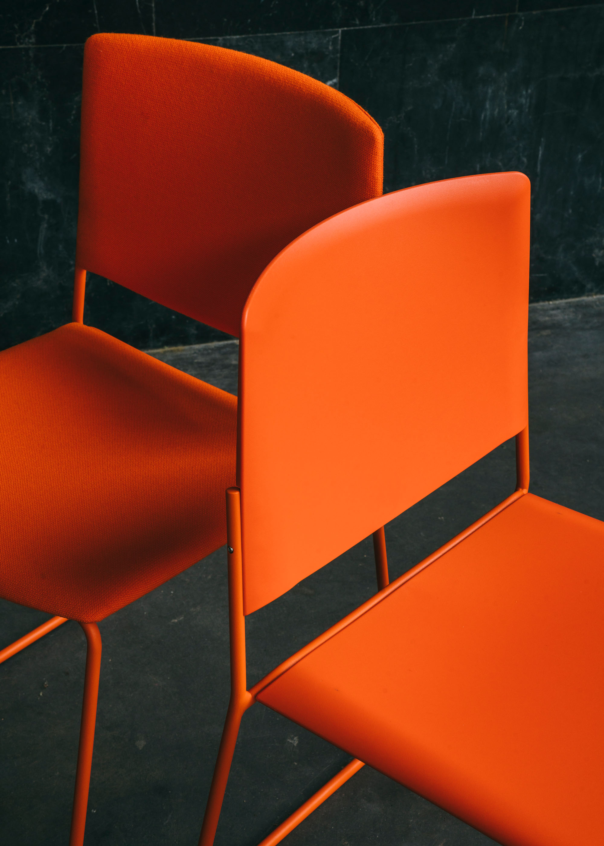 #furniture #enea #design #clase #basque #chairs #stilllife #orange
