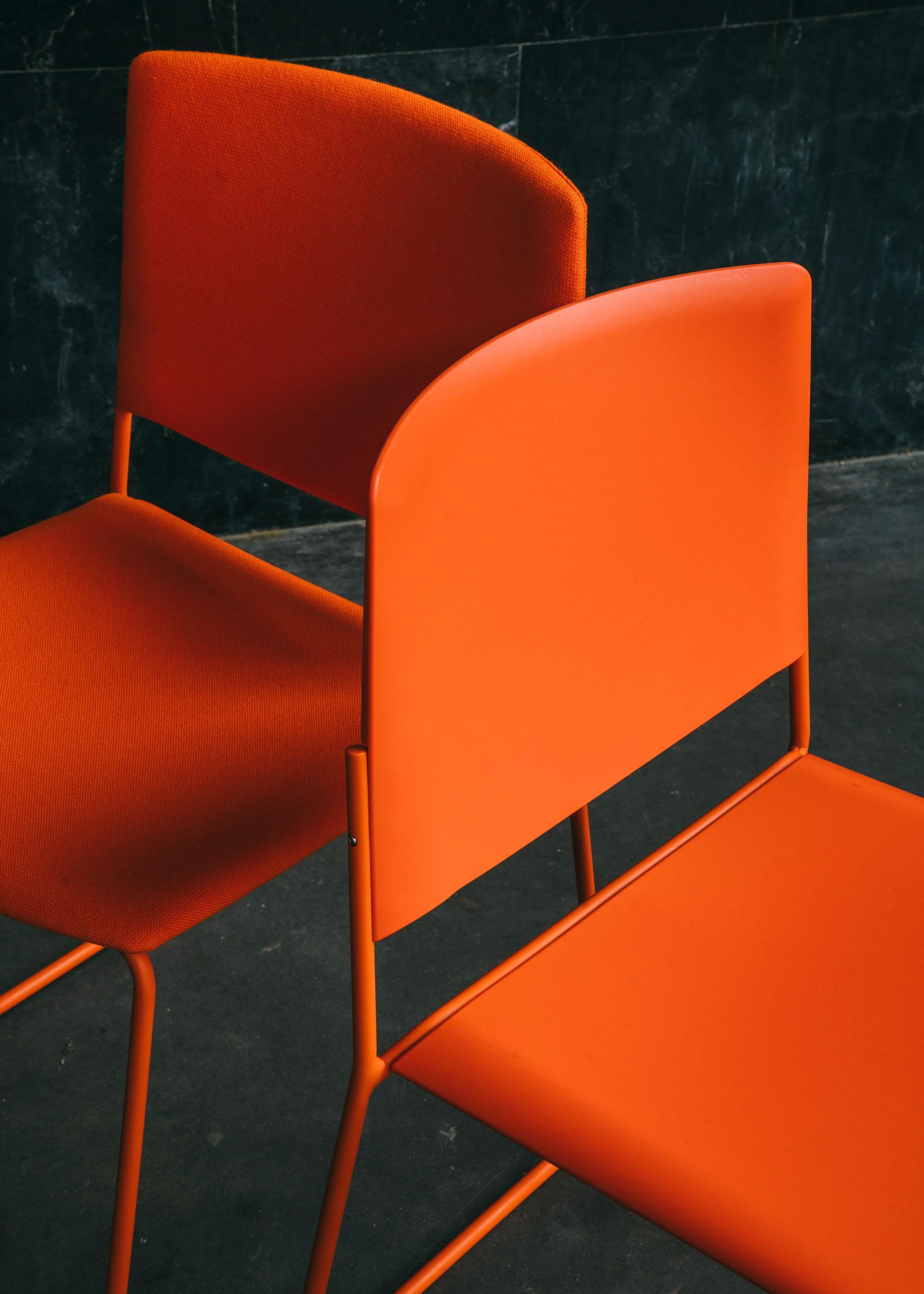 #furniture #enea #design #clase #basque #chairs #stilllife #orange