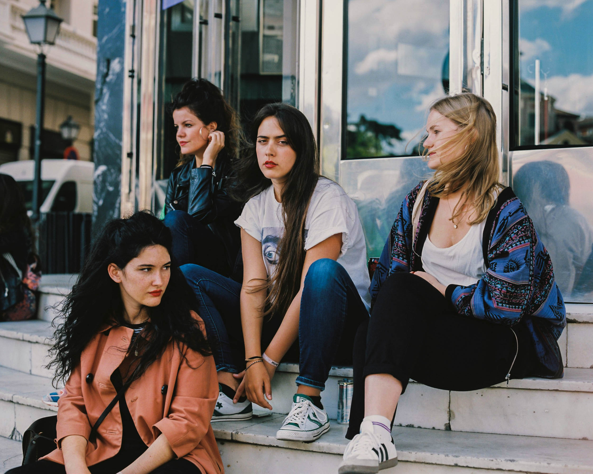 #editorial #fader #hinds #madrid #music #bands #portraits