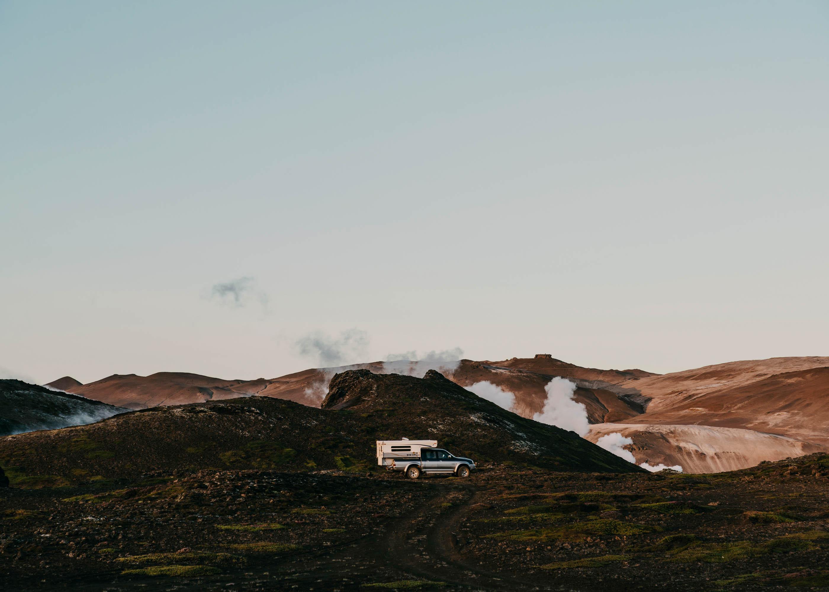 #1617 #personal #iceland #myvatn #mountains #landscapes #caravan