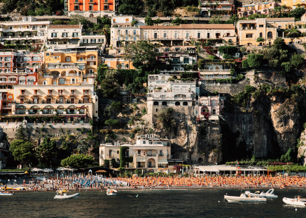 #mediterranean #italy #positano #landscapes #town #beach #travel