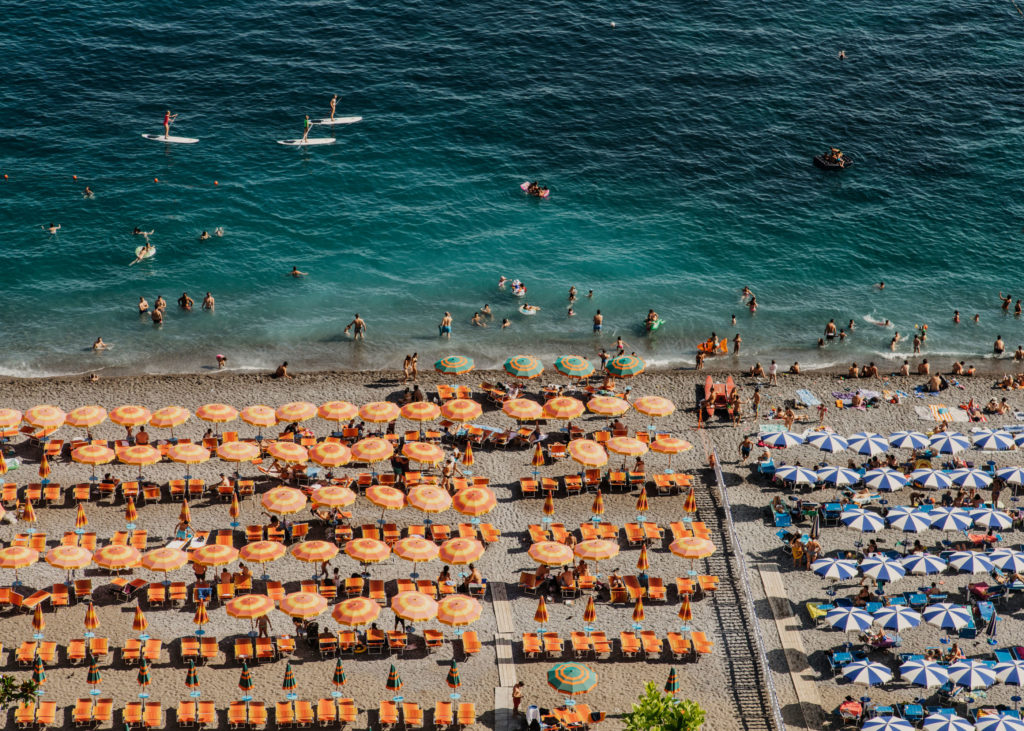 #mediterranean #italy #positano #beach #orange #lifestyle