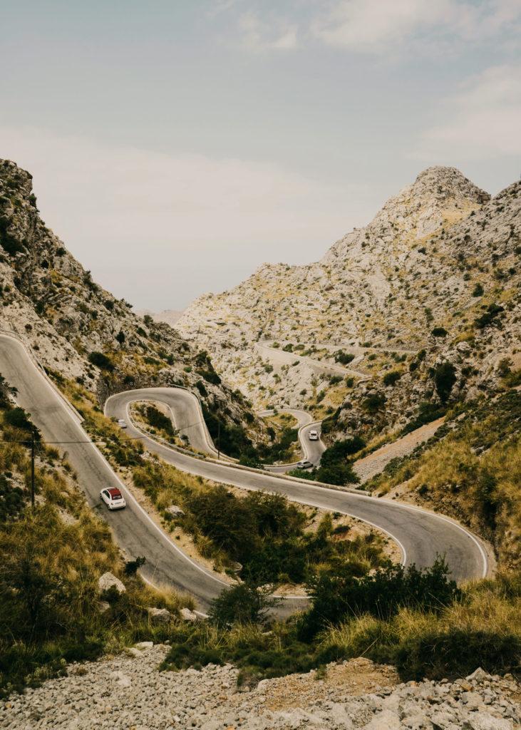#mediterranean #spain #mallorca #road #calobra