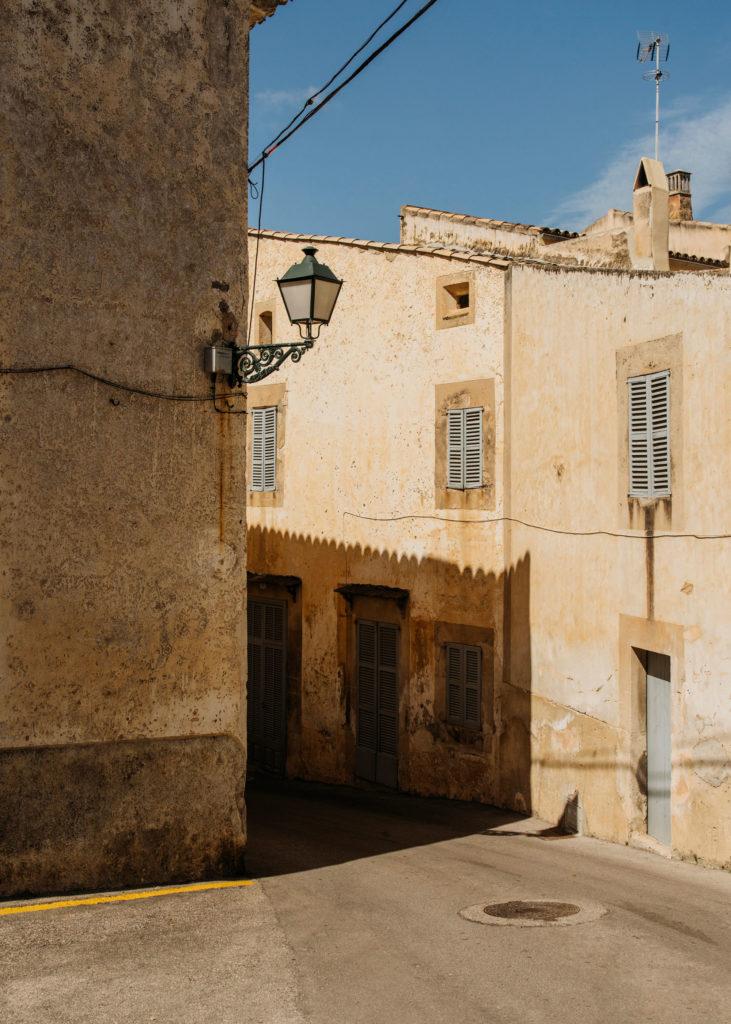 #mediterranean #mallorca #spain #estrelladamm #street #town