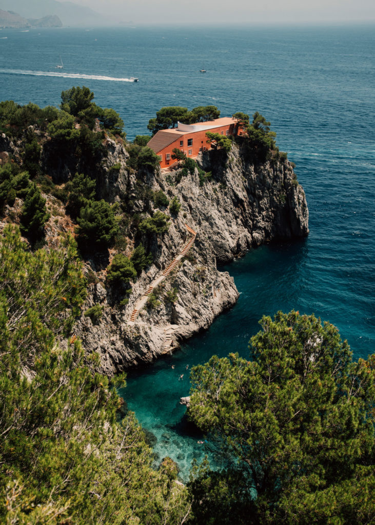 #mediterranean #italy #capri #islands #malaparte #architecture