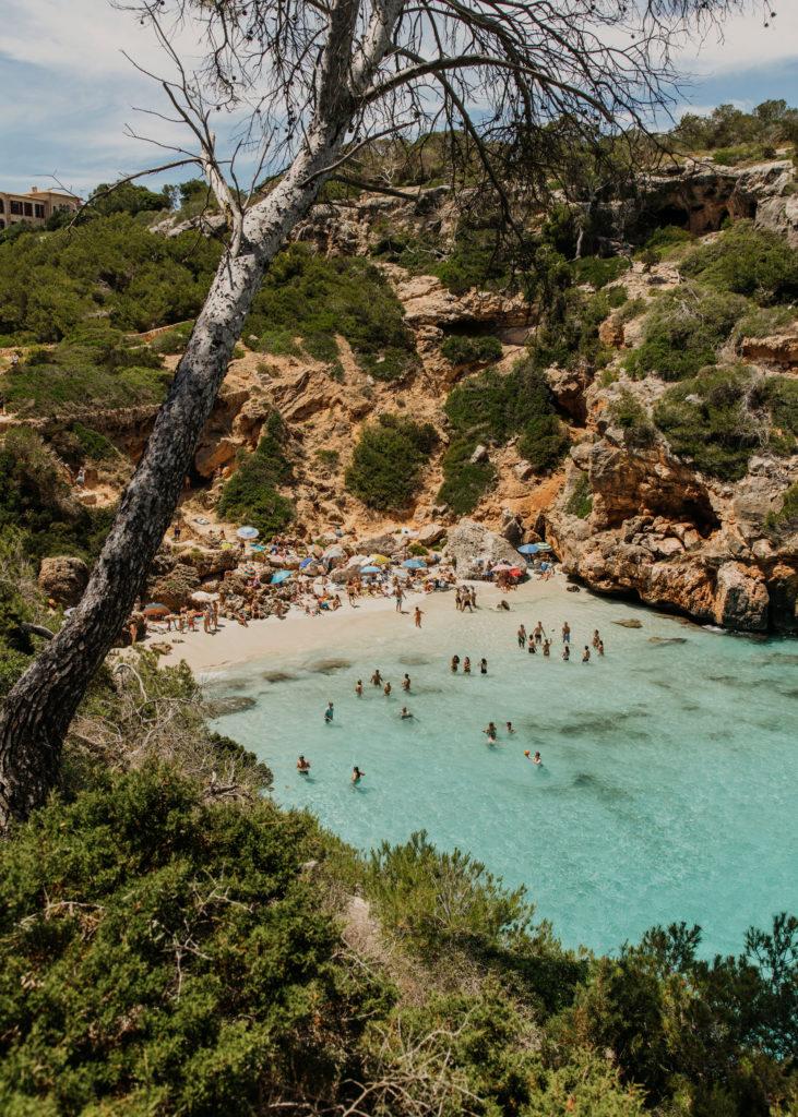 #mediterranean #spain #mallorca #estrelladamm #cala #icalodesmoro #beach #lifestyle