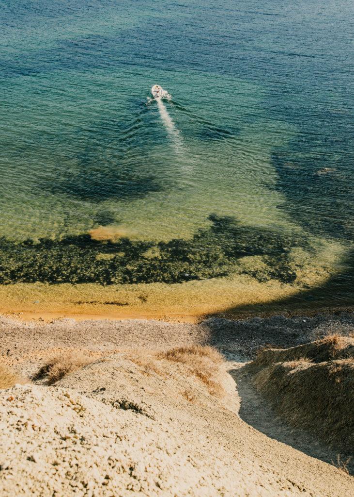 #mediterranean #malta #estrelladamm #boat #beach #landscapes #zoom