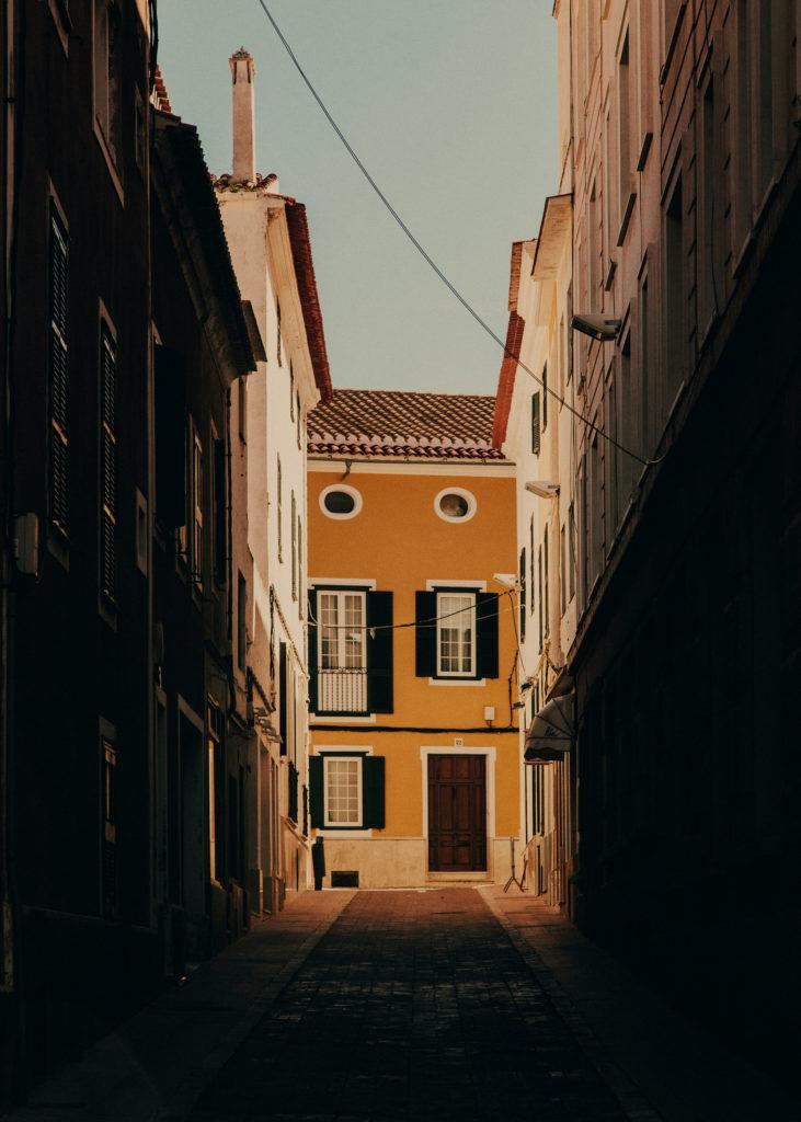 #mediterranean #spain #menorca #estrelladamm #islands #mahon #street  #town