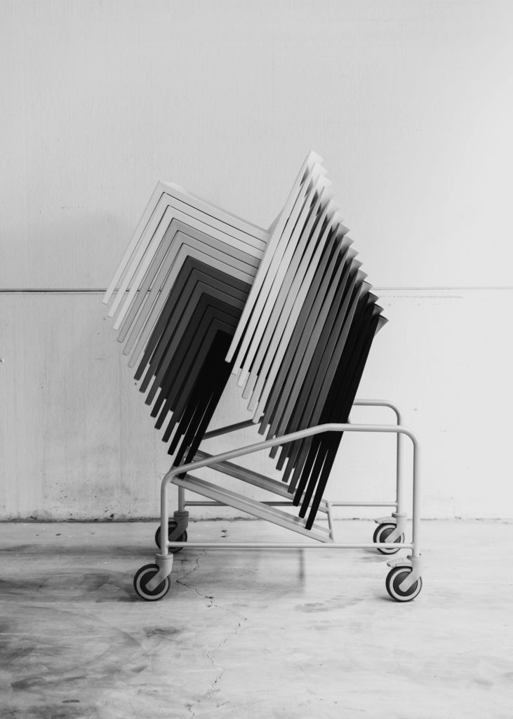 #furniture #andreuworld #valencia #design #emeyele #bw #industry #factory #chairs