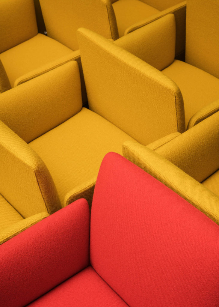 #furniture #andreuworld #valencia #design #emeyele #stilllife #red #chairs #yellow
