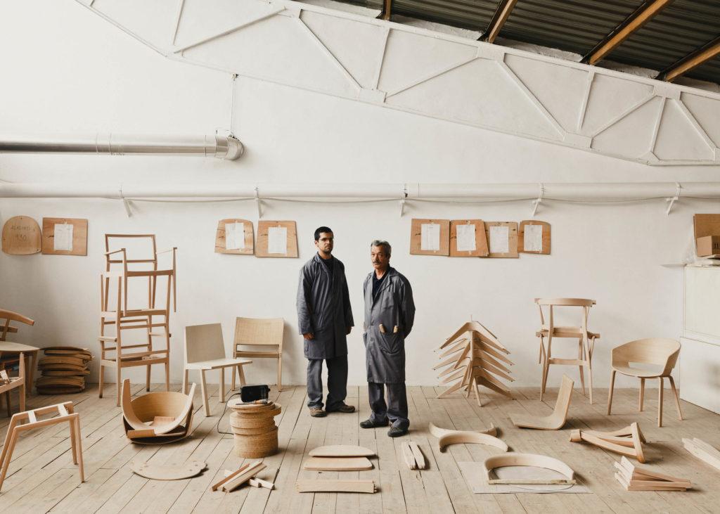 #furniture #andreuworld #valencia #design #emeyele #wood #portraits #chairs