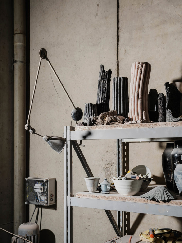 #apparatu #ceramics #barcelona #craft #atelier #xaviermanyosa #workspace #interiors #gfx50s