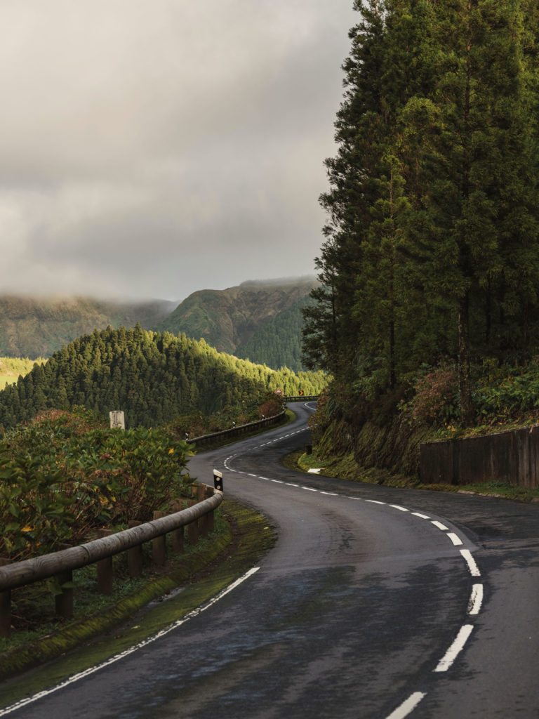 #azores #editorial #landscapes #departures #portugal #road