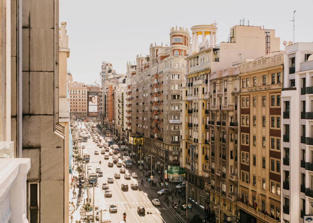 #spain #madrid #hotels #dear #tarruella #trench #gran #via
