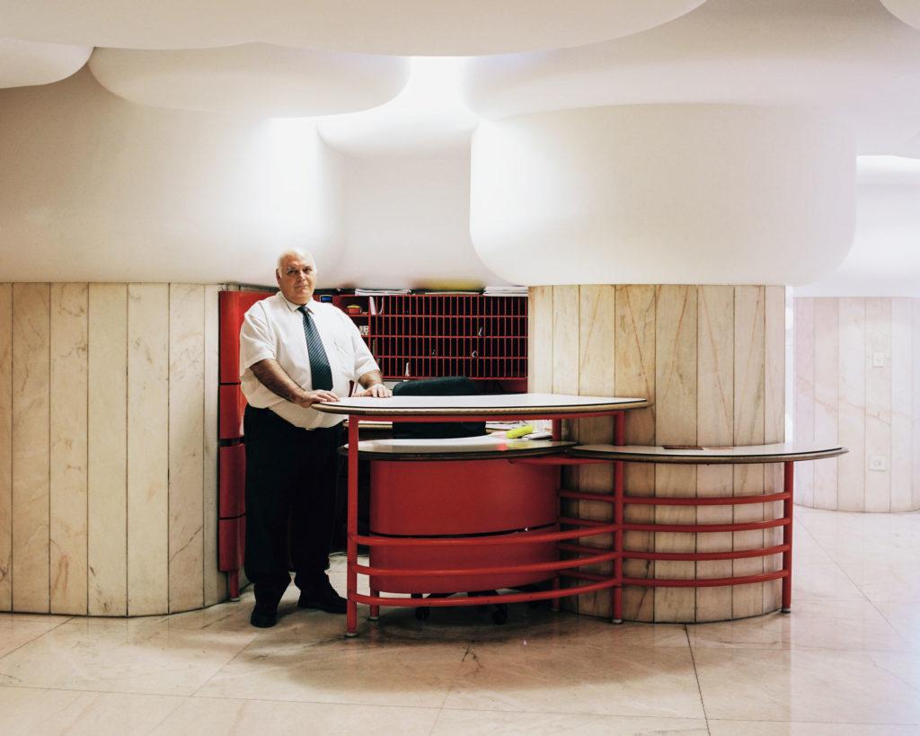 #madrid #interiors #torresblancas #monocle #oiza #portraits #lobby