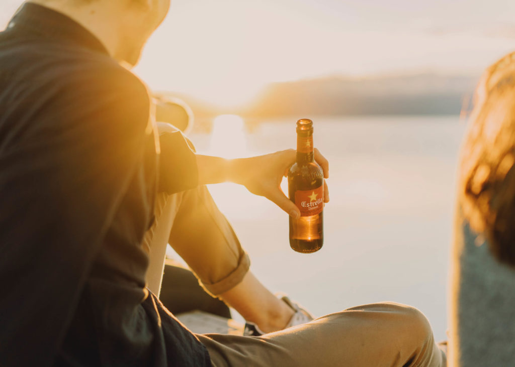 #estrelladamm #lifestyle #beer #sunset