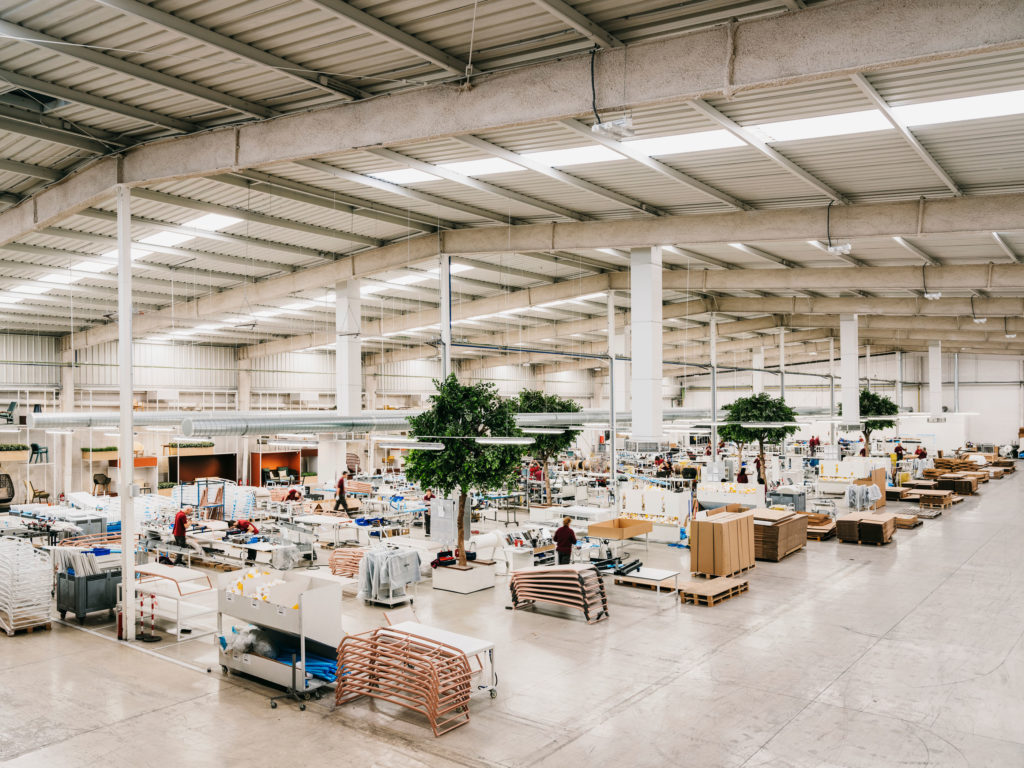 #furniture #kettal #industry #factory