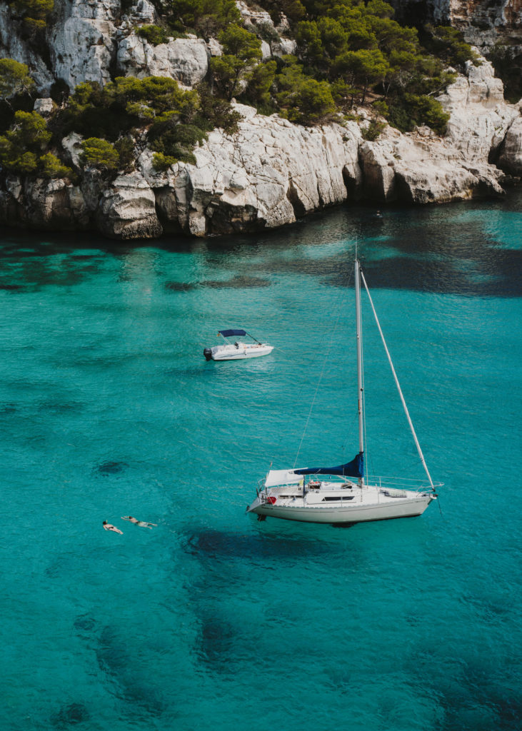 #menorca #spain #beach #travelleisure #travel #macarelleta #macarella #med #boats #lifestyle