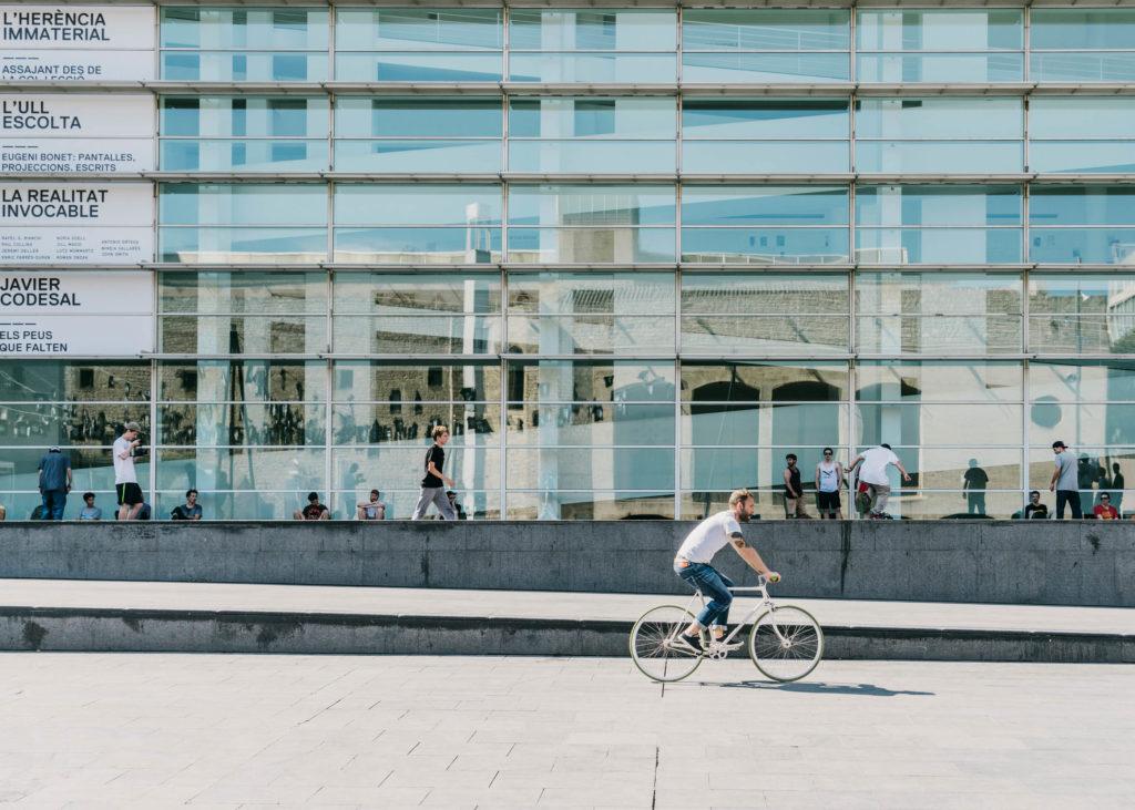 #barcelona #openhouse #fvf #freundevonfreunden #macba #bikes