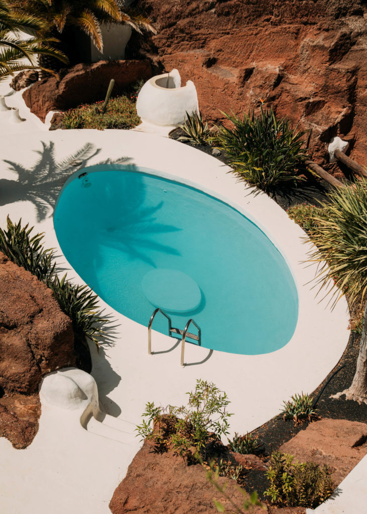 #1617 #lanzarote #cesarmanrique #lagomar #pools #travel