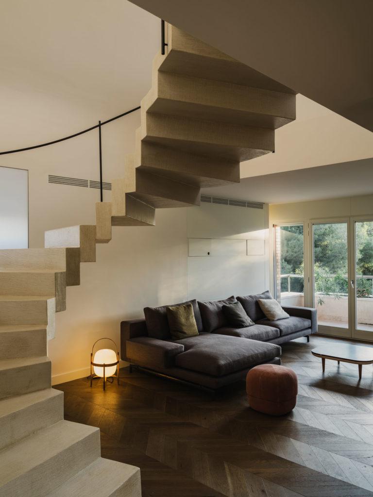 #interiors #barcelona #emilianoarmani #stairs #santacole #cesta #gfx50s