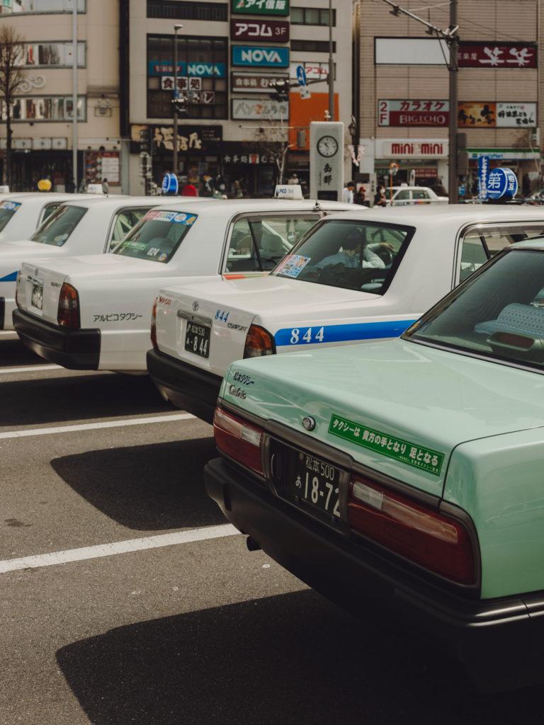 #japan #taxi #matsumoto #2018 #personal