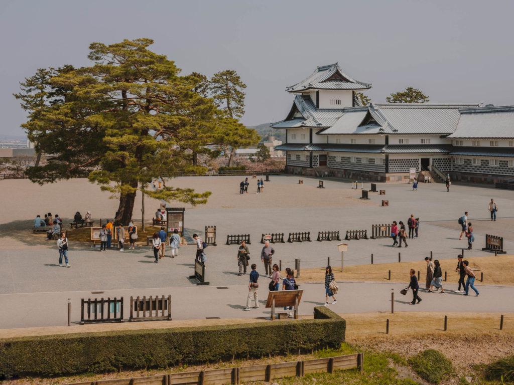 #kanazawa #park #japan #cherryblossom #castle #2018
