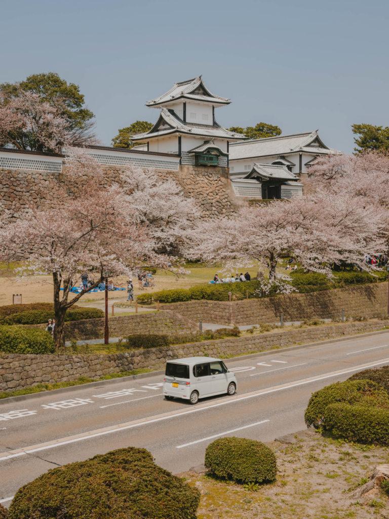 #kanazawa #park #japan #cherryblossom #castle #2018 #pink