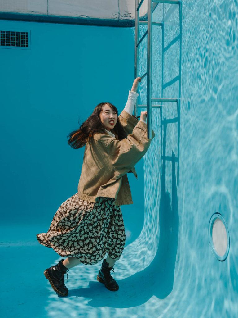 #japan #kanazawa #20thcentury #sanaa #2018 #pool #blue