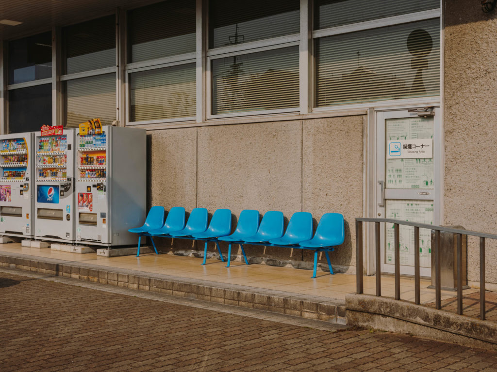 #japan #trains #personal #station #2018 #seat #blue
