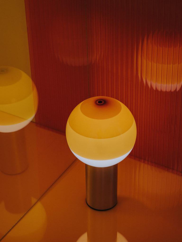 #marset #lighting #stilllife #youngtalents #folch #artdirection #set #orange #dippinglight