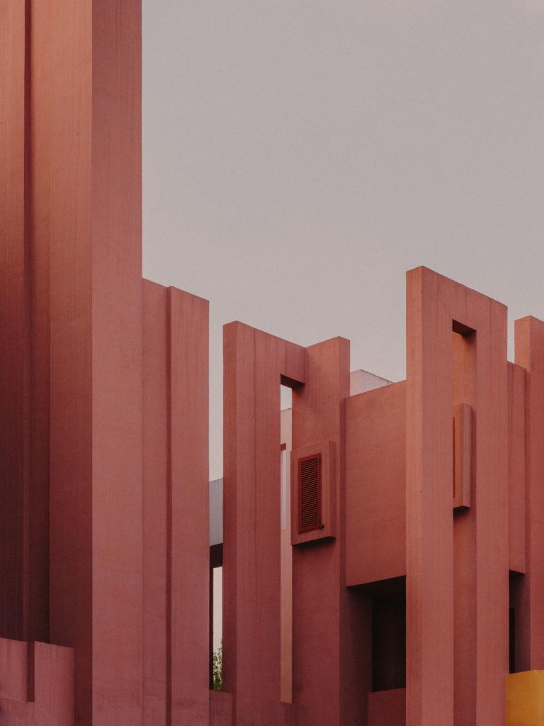 #xanadu #murallaroja #gestalten #visionsofarchitecture #bofill #calpe #valencia #spain #architecture #pink