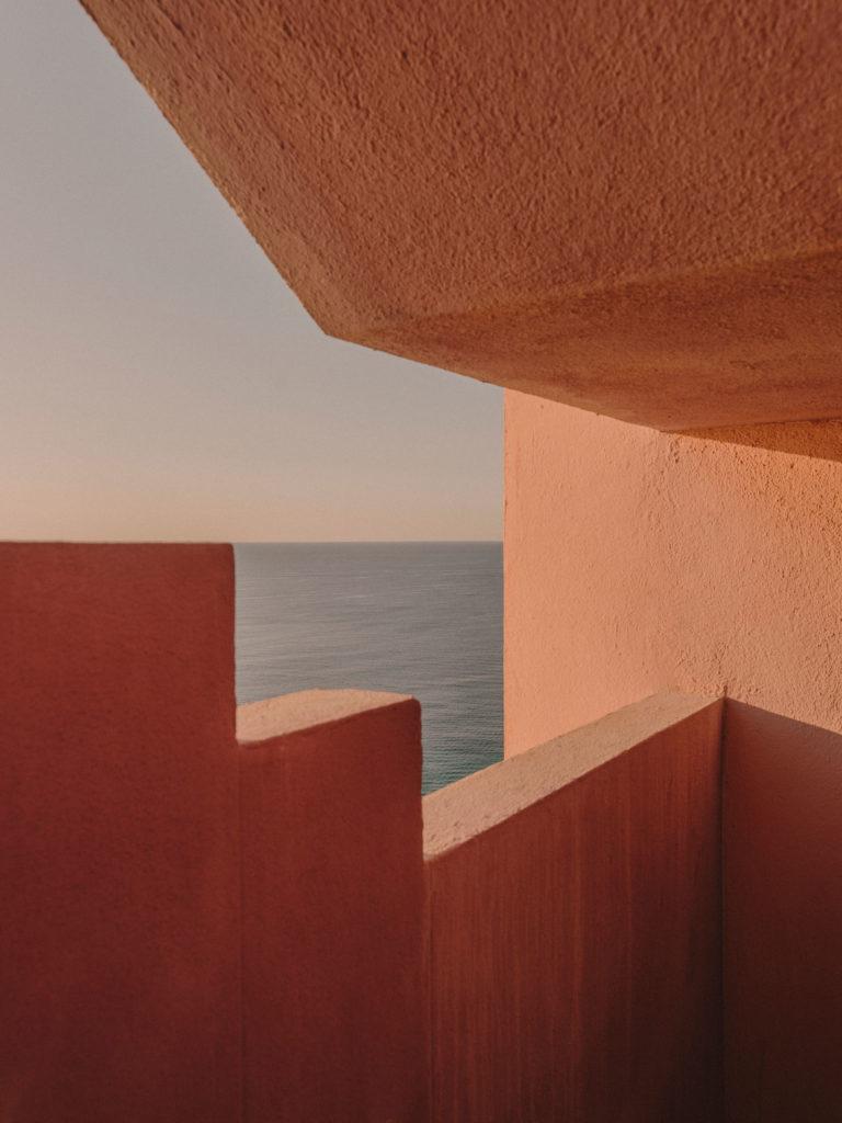 #xanadu #murallaroja #gestalten #visionsofarchitecture #bofill #calpe #valencia #spain #architecture #stairs #pink #mediterranean