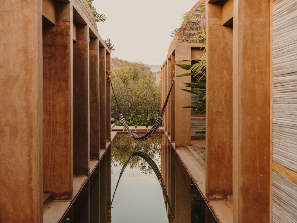 #airbnb #uniqueplaces #casavolta #puertoescondido #mexico #oaxaca #architecture #pool #travel
