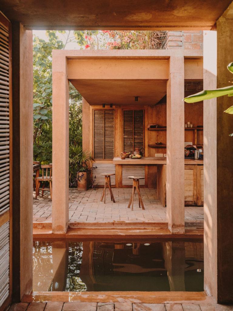 #airbnb #uniqueplaces #casavolta #puertoescondido #mexico #oaxaca #kitchen #pool