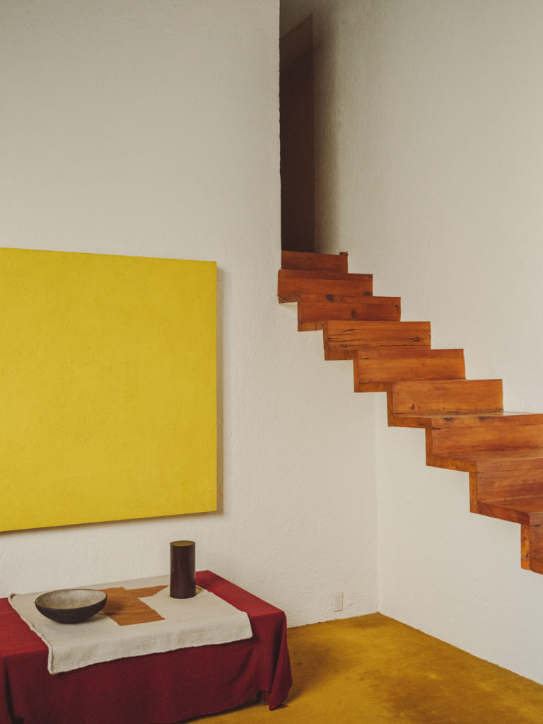 #barragan #mexico #cdmx #casaestudio #studio #stairs #interiors #yellow