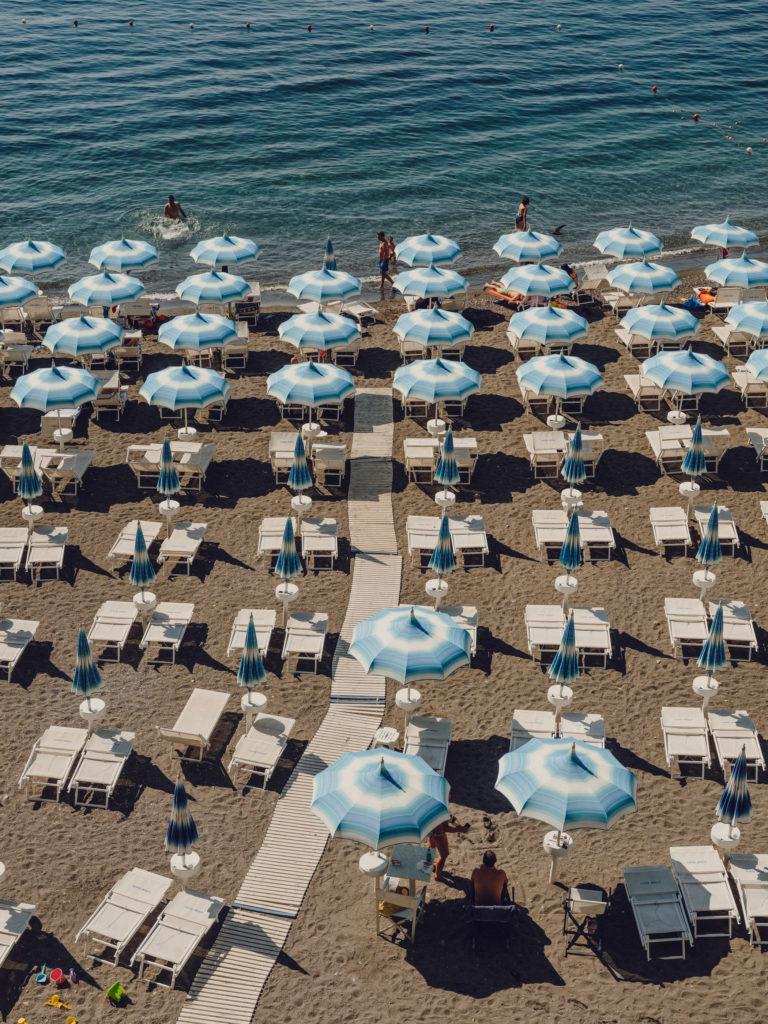 #airbnbmagazine #kayak #mediterranean #costaamalfitana #amalfi #umbrellas #blue #travel #beach #2018 #personal