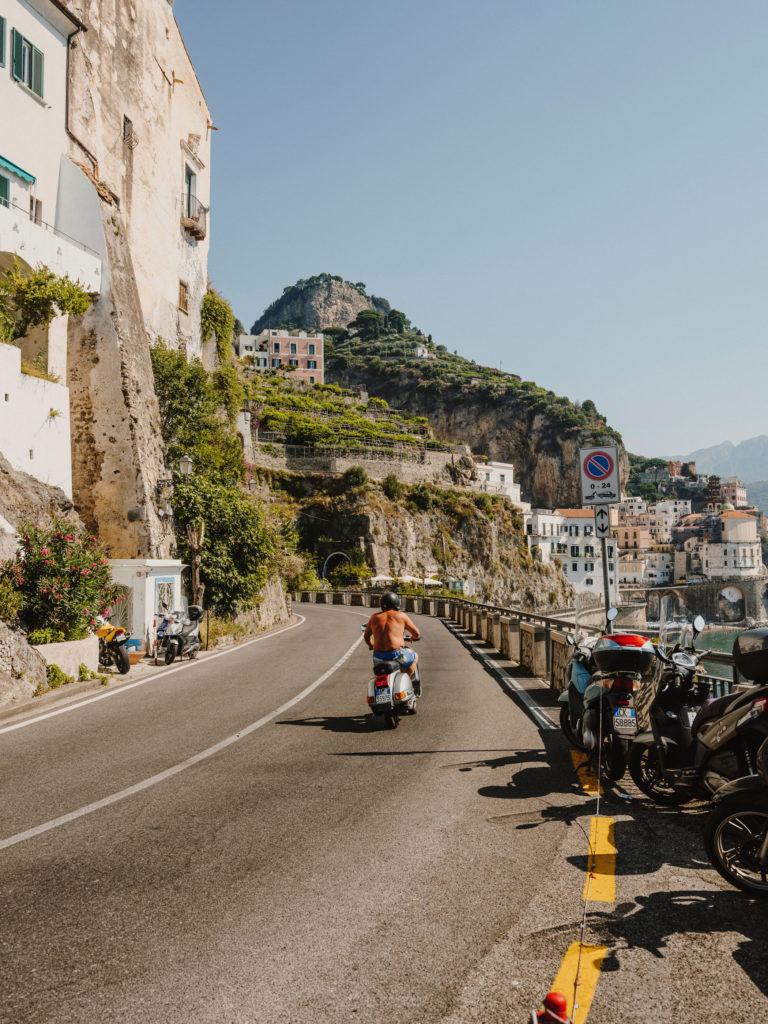 #airbnbmagazine #kayak #mediterranean #costaamalfitana #amalfi #motorbike