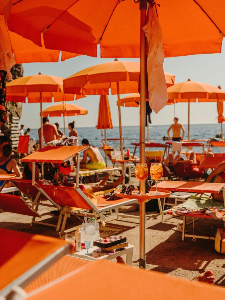 #airbnbmagazine #kayak #mediterranean #costaamalfitana #praiano #onfirebeachclub #travel