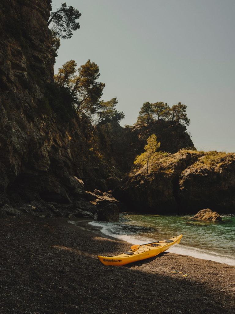 #airbnb #airbnbmagazine #kayak #mediterranean #costaamalfitana #beach #travel