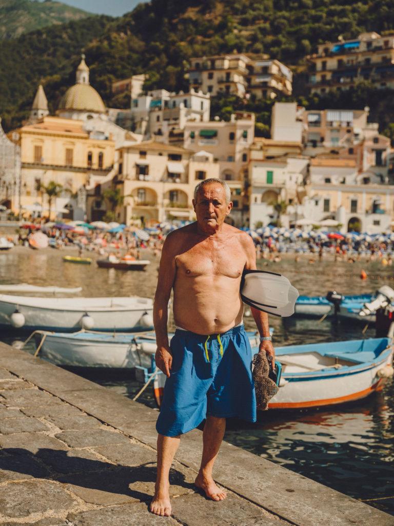 #airbnbmagazine #kayak #mediterranean #costaamalfitana #cetara #fisherman #travel #portraits #antoniodimauro