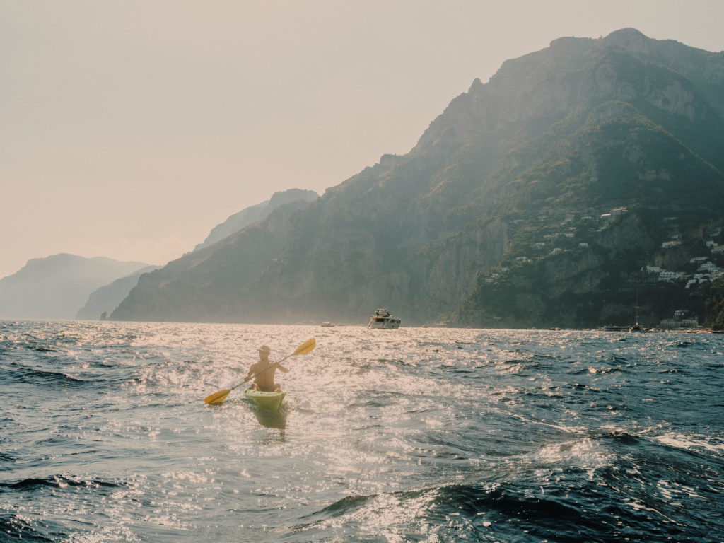 #airbnbmagazine #kayak #mediterranean #costaamalfitana #positano #travel