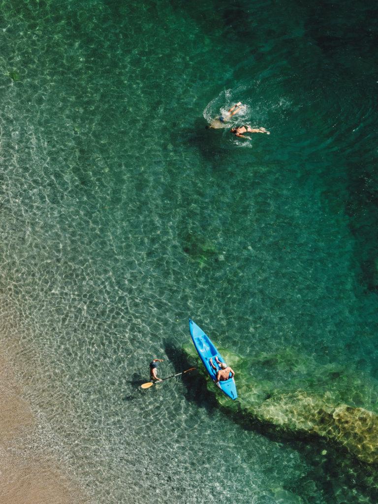 #airbnbmagazine #kayak #cavallomorto #beach #mediterranean #costaamalfitana #travel