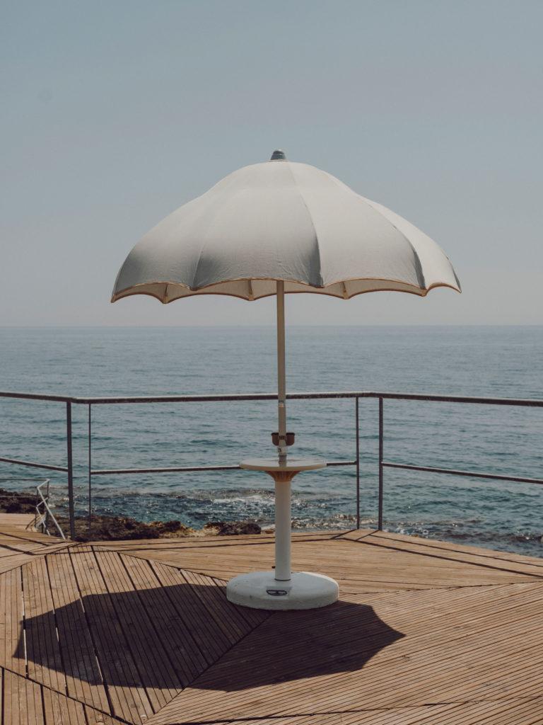 #2019 #puglia #italy #andrano #personal #beach #blue #umbrella