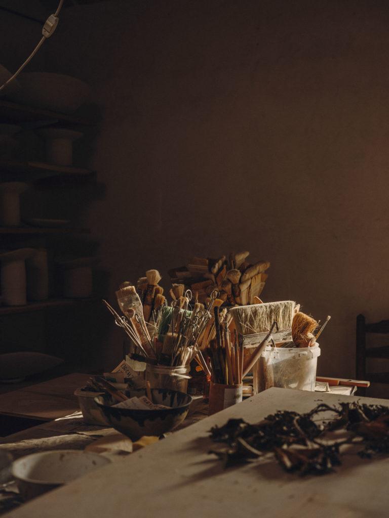 #pottershouse #lucianogiubbilei #mallorca #sonserva #craft #ceramics #openhousemagazine