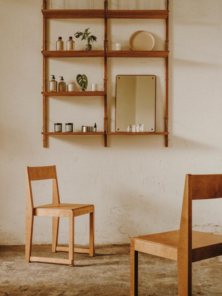 #frama #interiors #furniture #alblanc #andrewtrotter #chairs